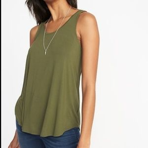 NWT Old Navy Luxe soft swing tank